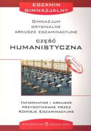 Arkusze egzaminacyjne. Cz�� humanistyczna