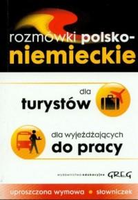 Rozmówki polsko-niemieckie dla - okładka książki