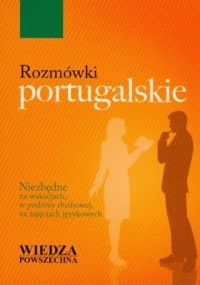 Rozmówki portugalskie - Wydawnictwo - okładka książki