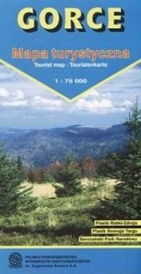 Gorce (mapa turystyczna) - Wydawnictwo - okładka książki