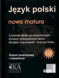 Język polski. Nowa matura. Czytanie - okładka podręcznika