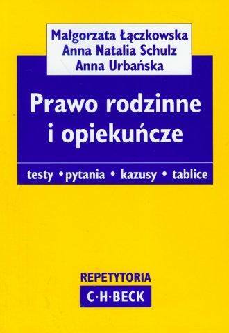 Prawo rodzinne i opieku�cze - Ma�gorzata ��czkowska