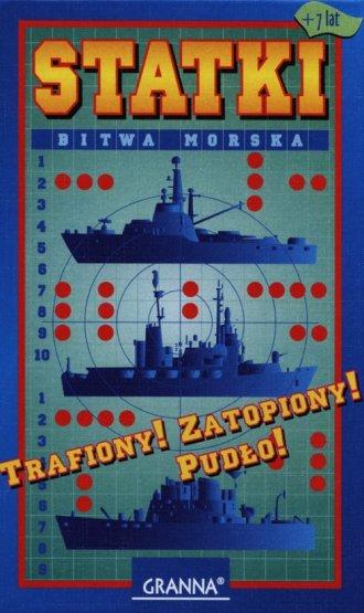Statki. Bitwa morska (gra planszowa) - Wydawnictwo Granna