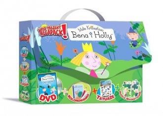 Ma�e kr�lestwo Bena i Holly (DVD + kolorowanka + puzzle magnetyczne). PAKIET