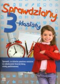 Sprawdziany 3-klasisty - okładka podręcznika