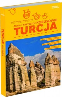 Turcja - Anna Kobus - okładka książki