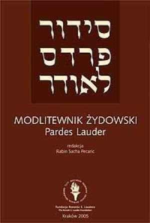 Modlitewnik �ydowski. Modlitwy na dni powszednie i na szabat z t�umaczeniem na j�zyk polski - rabin Sacha Pecaric