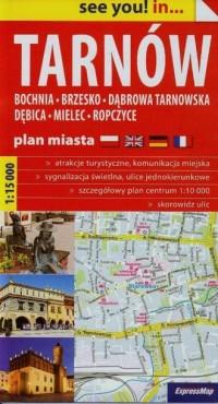 Tarnów plan miasta (skala 1:15 - okładka książki