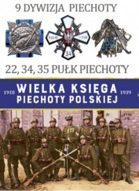 9 Dywizja Piechoty. 22,34,45, Pułk - okładka książki