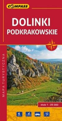 Dolinki podkrakowskie - Wydawnictwo - okładka książki