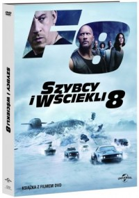 Szybcy i wściekli 8 DVD (+ booklet) - okładka filmu