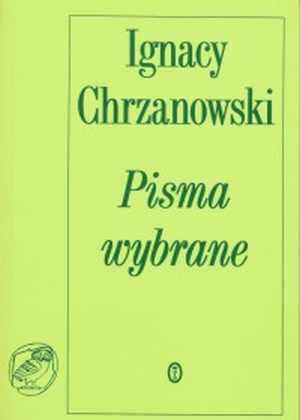 ksi��ka -  Pisma wybrane - Ignacy Chrzanowski