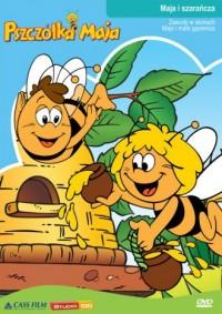 Pszczółka Maja Maja i szarańcza - okładka książki