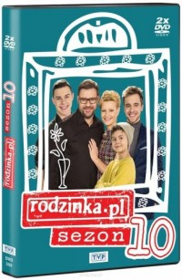 Rodzinka.pl Sezon 10 - Wydawnictwo - okładka książki