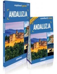 Andaluzja explore! guide light. - okładka książki