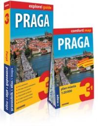 Praga explore! guide. 3w1: przewodnik - okładka książki
