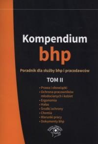 Kompendium BHP. Tom 2 - Wydawnictwo - okładka książki