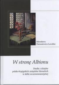 W stronę Albionu. Studia z dziejów - okładka książki