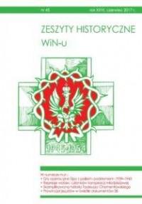 Zeszyty Historyczne WiN-u nr 45 - okładka książki