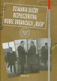 Działania Służby Bezpieczeństwa - okładka książki