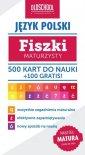 J�zyk polski. Fiszki maturzysty. 500 kart do nauki + 100 gratis. Cel: MATURA - Izabela Galicka