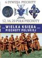 6 Dywizja Piechoty. 12,16,20 Pułk - okładka książki